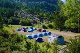 El terreny Riugréixer de Campaments i Més, a Bagà (Berguedà). MEG